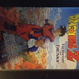 Dragon Ball Z thr history of trunks